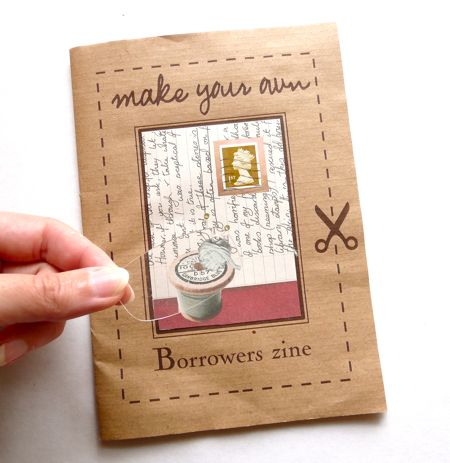 A delightful zine about The Borrowers