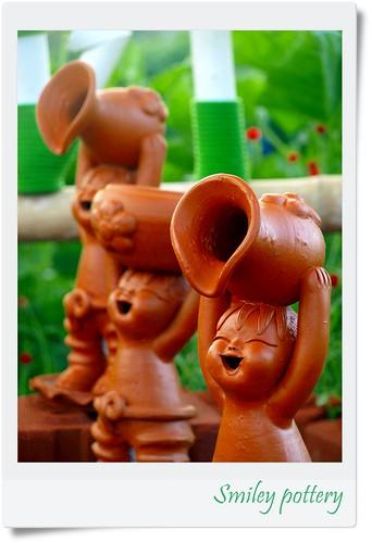 """Smiley Pottery by friendsofarnon-II, on Flickr"""