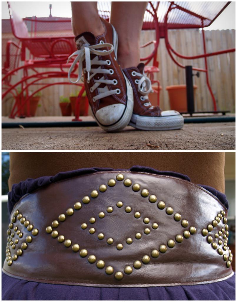 chucks & belt