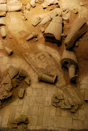 excavation, army of terra cotta soldiers, xian