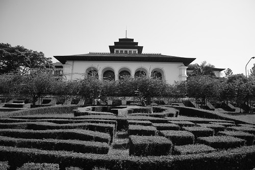 Gedung Sate rear view