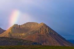 Mountain view (*Jonina*) Tags: mountains iceland rainbow ísland naturesfinest regnbogi fjöll absolutelystunningscapes