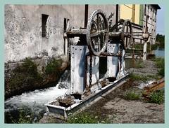 Opere idrauliche sul naviglio pavese (My soul in pixel..) Tags: water agua eau wasser campagna acqua lombardia channel canale naviglio pavia navigliopavese emilius