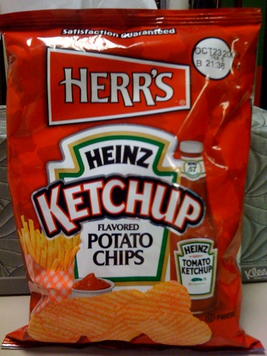 Herr's Heinz Ketchup chips
