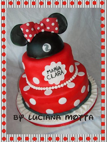 minnie mouse cake. Bolo Minnie III (Minnie Mouse