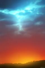 Colors, Colors! (Ben Heine) Tags: africa above blue light red wild summer sky orange hot cold art nature colors night composition contrast forest season print flow fire warm poem glow colours time lumire couleurs turquoise echo dream warmth peaceful kitsch nikond70s exotic harmony minimalism copyrights digitalphoto renew ecosystem afrique kleuren chaleur rve paisible petersquinn colorscolors benheine conceptualphoto hubertlebizay hubzay dawnintotheblue infotheartisterycom
