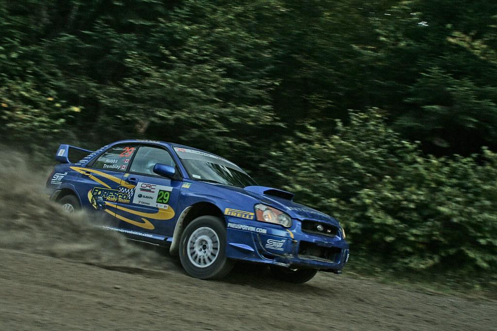 Steeve Hobbs - Rallye Défi