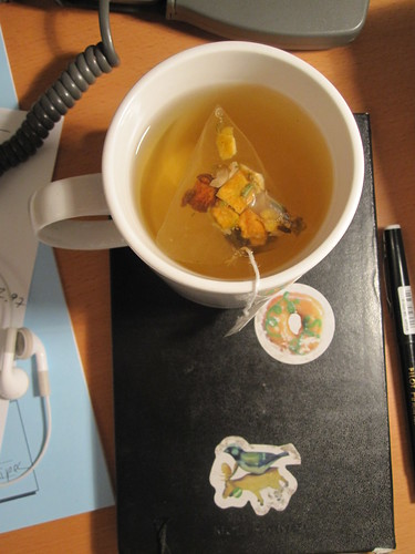 herbal tea from the bistro - free