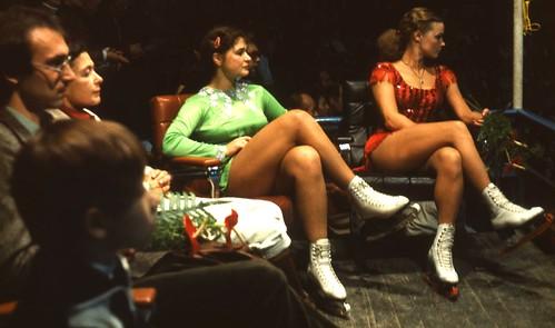 East German figure skating elite...