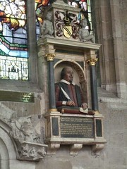 Shakespeare's memorial at Holy Trinity Church