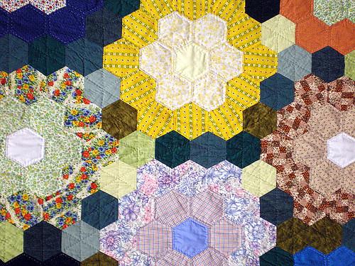 Vintage Flower Garden Quilt
