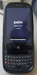 updating Palm Pre