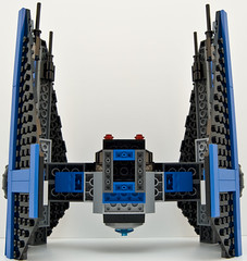 6206 tie fighter straight bottom (Big Cam crsx) Tags: starwars lego 6206