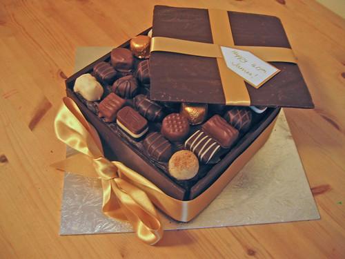 Chocolate Box Cake Beautiful Birthday Cakes