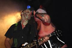Demented are go! & Mad Saints (sensaos) Tags: music rock fetish de concert punk suspension live go kade saints bdsm psycho horror roll mad burlesque 2009 alternative hooks zaandam demented psychobilly freakshow subculture rockn goresque madsaints