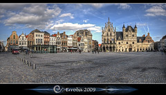 City hall - Grote Markt :: Mechelen - Belgium (Erroba) Tags: sky panorama clouds photoshop canon rebel belgium belgique tripod gothic belgi sigma tips remote 1020mm erlend hdr mechelen grotemarkt cs3 3xp photomatix tonemapped mideivel tonemapping xti 400d erroba robaye erlendrobaye michaelrathmann