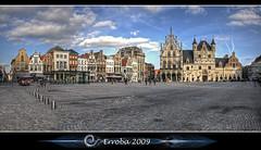 City hall - Grote Markt :: Mechelen - Belgium (Erroba) Tags: sky panorama clouds photoshop canon rebel belgium belgique tripod gothic belgië sigma tips remote 1020mm erlend hdr mechelen grotemarkt cs3 3xp photomatix tonemapped mideivel tonemapping xti 400d erroba robaye erlendrobaye michaelrathmann