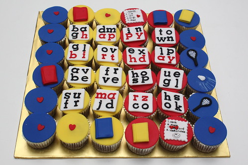 word puzzle cupcakes