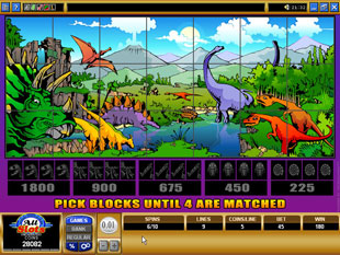 free Dino Might gamble bonus game
