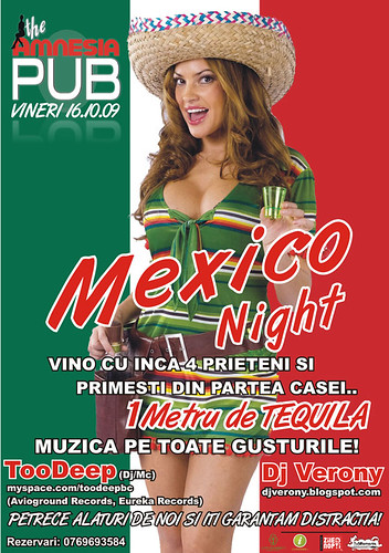 16 Octombrie 2009 » Mexico Night