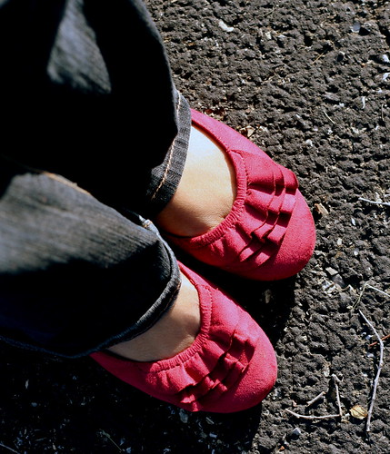 "My ""Berry"" nice shoes .....  :)"