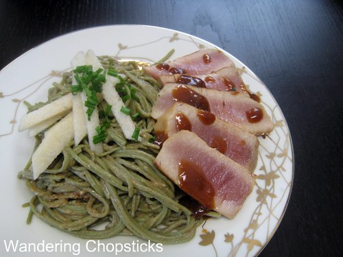 Seared Tuna with Hoisin Soy Sauce Glaze 1