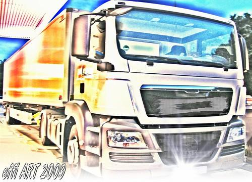 neuer MAN truck ,TGX