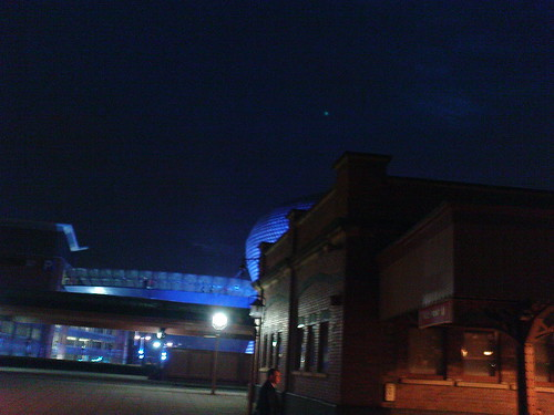 Moor Street Station and Selfridges in the Evening