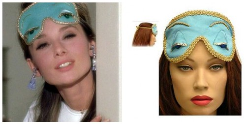 Breakfast At Tiffany's Sleep Mask Silk Satin Eye Mask