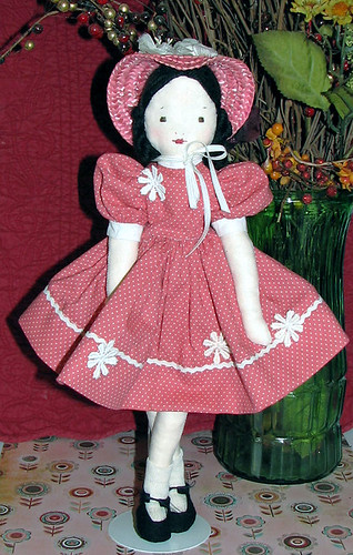 Pretty in pink EFA doll