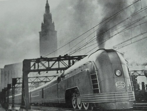 Sunday Streamline #5: Mercury - Dieselpunks Henry Dreyfuss Train