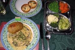 Rhymney House Dinner
