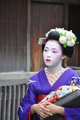 Kyoto (LivAnon) Tags: japan kyoto maiko geiko kimono gion takahina