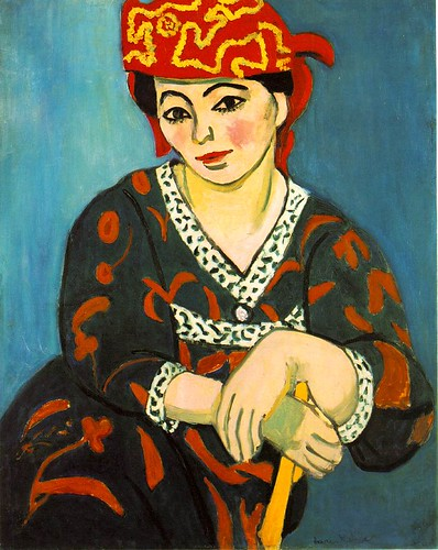 Mme Matisse: Madras Rouge (The Red Madras Headress), Henri Matisse