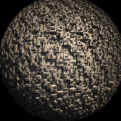 W.i.p. (.oscareinn..) Tags: abstract lights 3dstudiomax vray greeble graciasporpasar