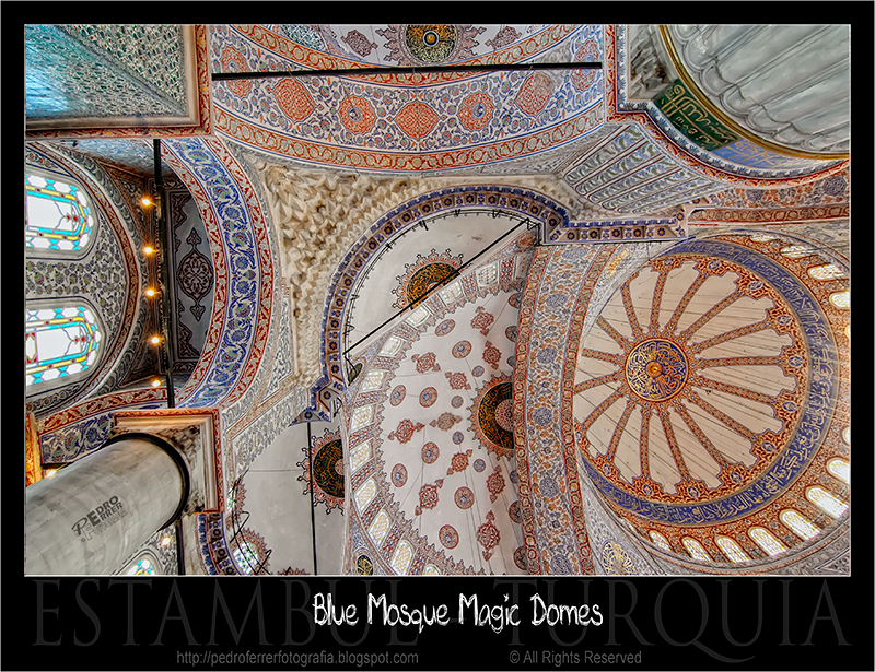 Istanbul Blue Mosque - Magic Domes