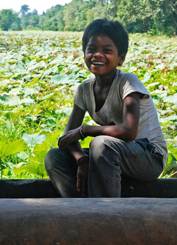 Happy Guy at Beng Mealea
