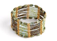 Beaded bracelet (allispossible.org.uk) Tags: charity beautiful beauty shop glitter beads glamour pretty creative craft jewelry jewellery bracelet schmuck beaded artisan oxfam