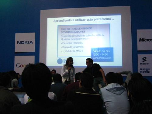 Movistar presenta su plataforma de desarrollo