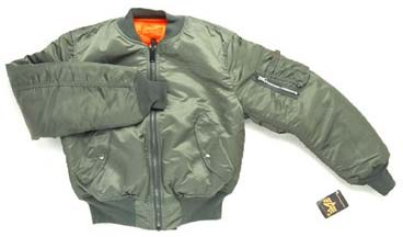 Alpha MA-1 Nylon Flight Jacket