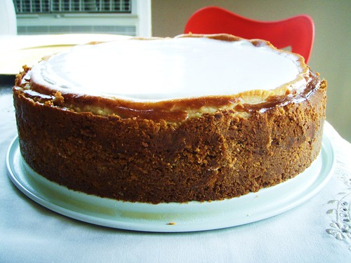 brown sugar cheesecake - 01