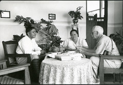 Rajah Parengkirau and his wife with David Fairchild