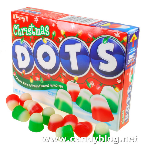 christmas dots - Christmas Candy Corn