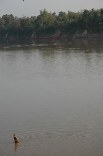 Fishing in the Sekong River, Attapeu