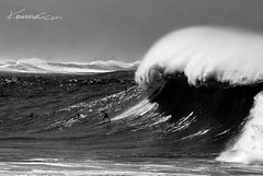 Waimea Surf ( KristoforG) Tags: ocean white black water contrast canon photography hawaii bay big sand gun surf pacific oahu wave tsunami waimea housing rider swell tidal solid gellert kristofor