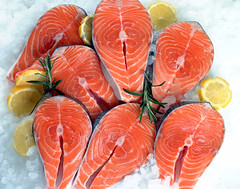 63Salmon Steaks 2 (BillBrady) Tags: nyc stilllife newyork digital magazine studio advertising photography cuisine photo all wine image drink photos manhattan great beverage creative restaurants super location patient professional photographs cover drinks commercial rights packaging editorial photostudio products annual brady brochures 2009 reserved inexpensive cookbooks digitalphotography reasonable awardwinning foodphotography foodphotos a stockfood foodshots digitalstudio foodstylist propstylist billbrady culinaryphotos httpwwwstudio212photocom billbradyphotography hrefhttpwwwstudio212photocom relnofollowhttpwwwstudio212photocoma billbradyfoodphotogrpaher bill foodphotographerinny foodclasses