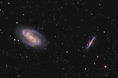 M81 and M82 Galaxies Reprocessed by Buzzer (Terry Hancock www.downunderobservatory.com) Tags: camera sky night digital stars photography deep images astro observatory telescope galaxy astrophotography terry astronomy imaging hancock ccd universe amateur cosmos celestron tmb osc astronomer teleskop astronomie m82 m81 astrofotografie astrophotographer qhy8 cgepro tmb130ss