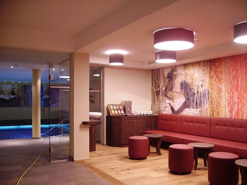Hotel Alpen-Herz Schwimmbad Tea Room