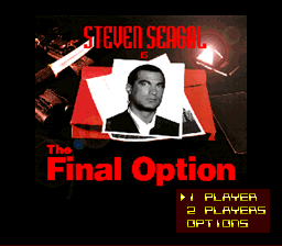 Steven Seagal is The Final Option Demo (Beta)000