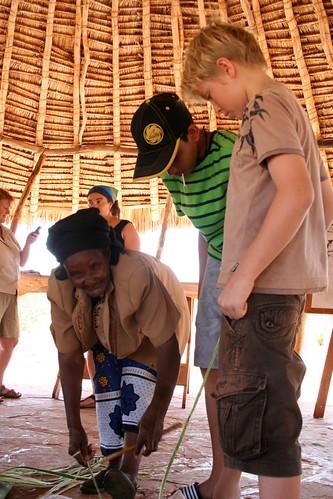 Learning to make sisal